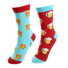 Load image into Gallery viewer, Beer And Pizza  S/M  Unisex Socks