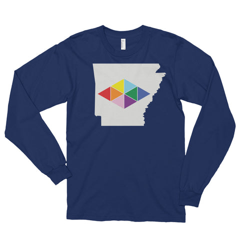 ARKANSAS DIAMONDS Long sleeve t-shirt (unisex)