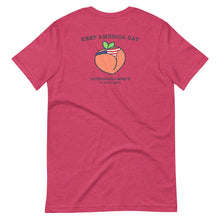 Load image into Gallery viewer, Peaches Gaybonanza - Short-Sleeve Unisex T-Shirt
