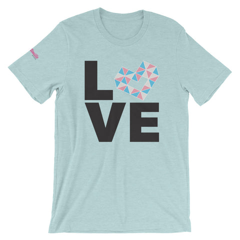LOVE TRANS Short-Sleeve Unisex T-Shirt