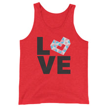 Load image into Gallery viewer, LOVE TRANS Unisex  Tank Top