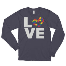Load image into Gallery viewer, LOVE RAINBOW Long sleeve t-shirt (unisex)