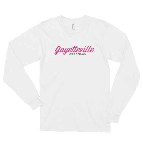 GAYETTEVILLE ARKANSAS Long sleeve t-shirt (unisex)