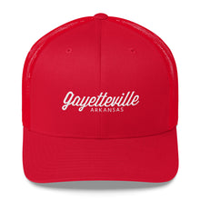 Load image into Gallery viewer, Gayetteville Arkansas Trucker Cap