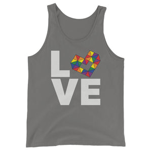LOVE RAINBOW Unisex  Tank Top