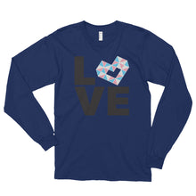 Load image into Gallery viewer, LOVE TRANS Long sleeve t-shirt (unisex)