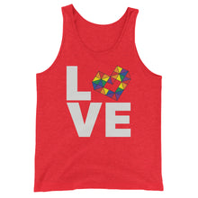 Load image into Gallery viewer, LOVE RAINBOW Unisex  Tank Top