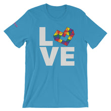 Load image into Gallery viewer, LOVE RAINBOW Short-Sleeve Unisex T-Shirt