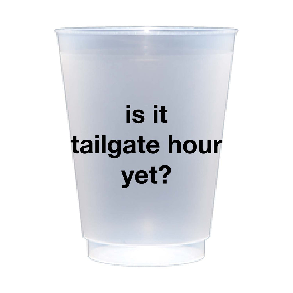 Is It Tailgate Hour Yet