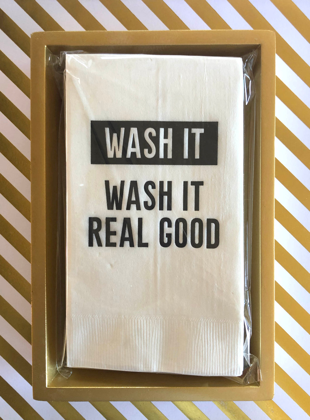 Wash It, Wash It Real Good - Guest Towel