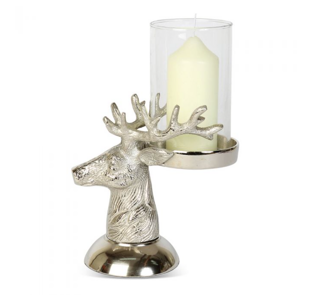 Stag Candle Holders