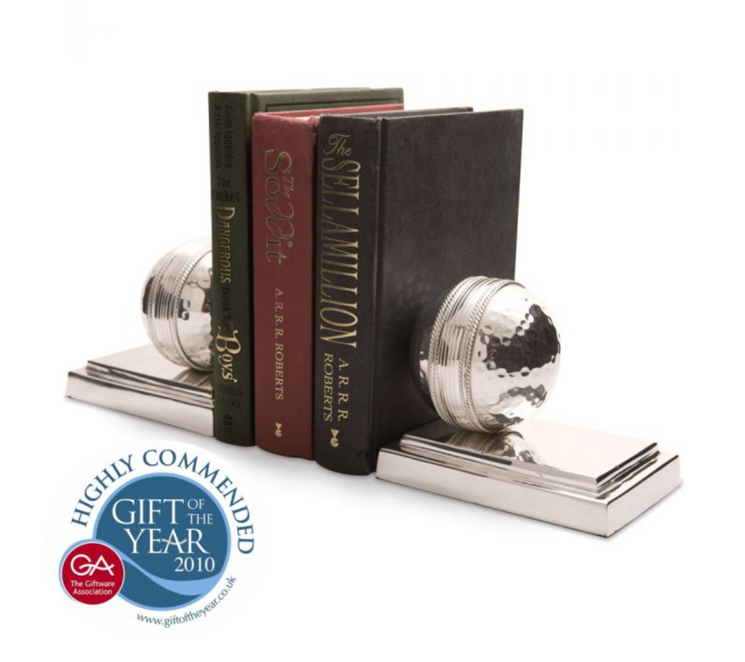 Cricket Ball Bookends