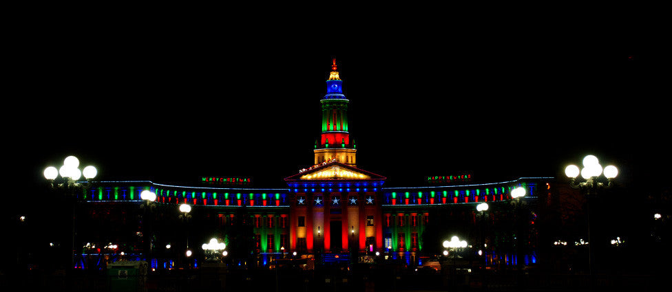 IT'S A HOLLY, JOLLY CITY AND COUNTY BUILDING