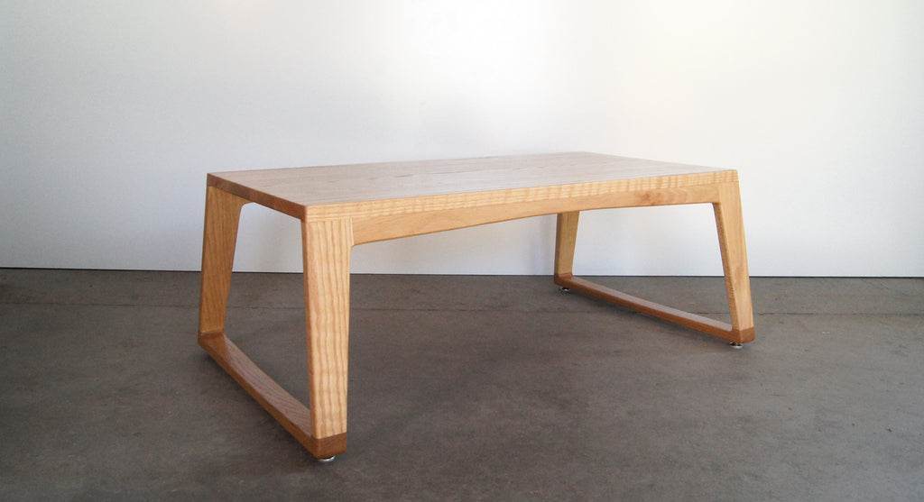 ARMADILLO COFFEE TABLE - WHITE OAK