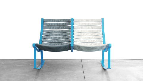 GRASSHOPPER ROCKER - STEEL, LOVESEAT
