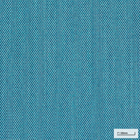 BRIGHT BLUE WOOL UPHOLSTERY (#983)