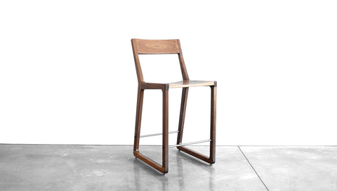ROADRUNNER COUNTER CHAIR - WOOD