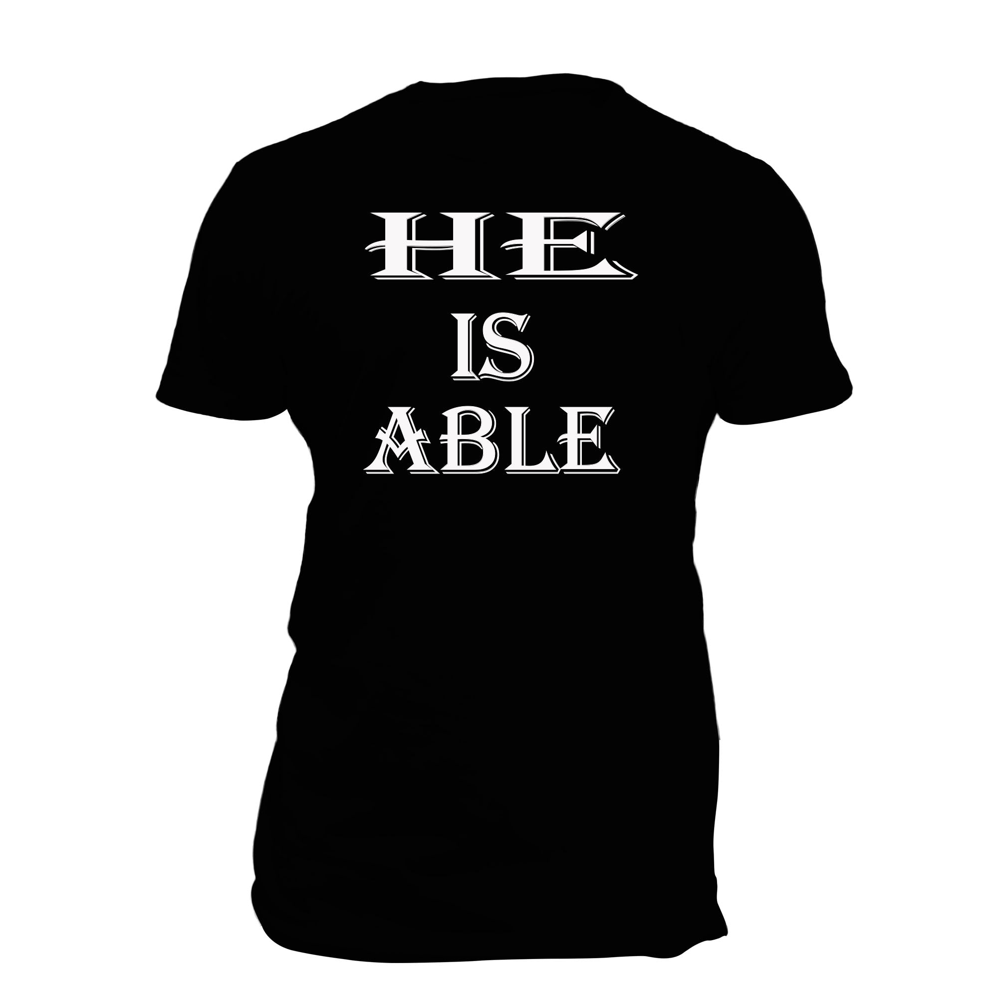 He Is Able (blk)