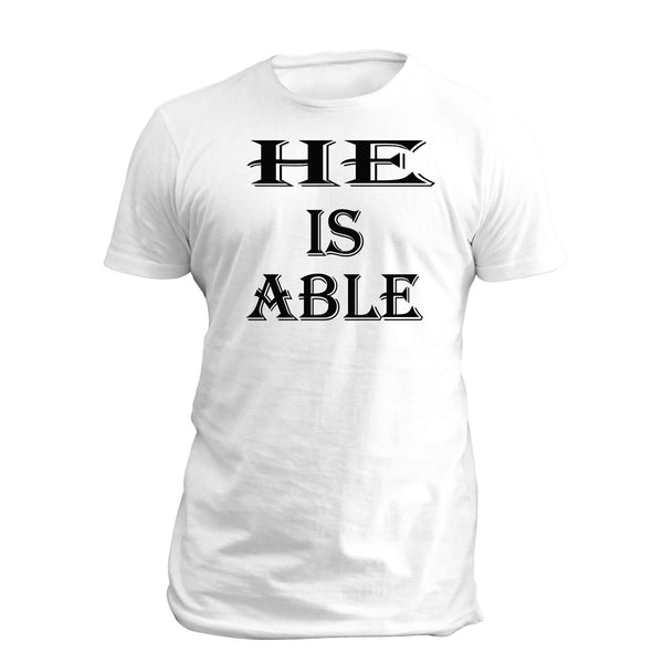 He Is Able 1 (wht)