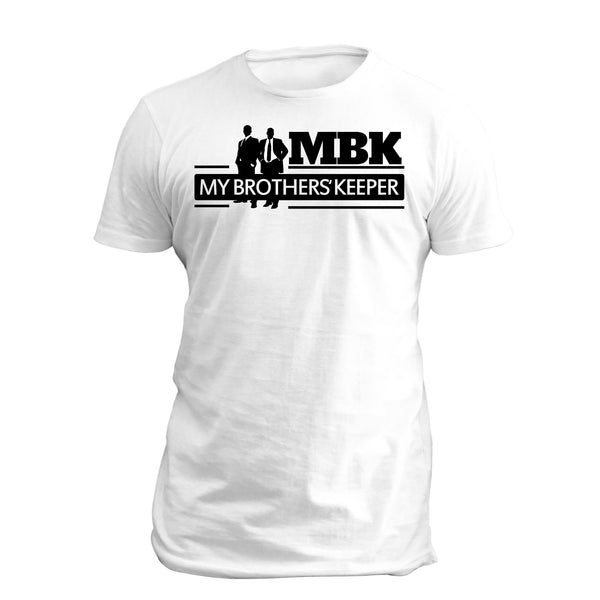 My Brothers' Keeper SS Full T Shirt White