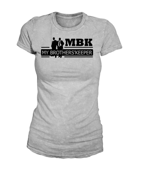 My Brothers' Keeper 4 Full T Shirt Female Wht
