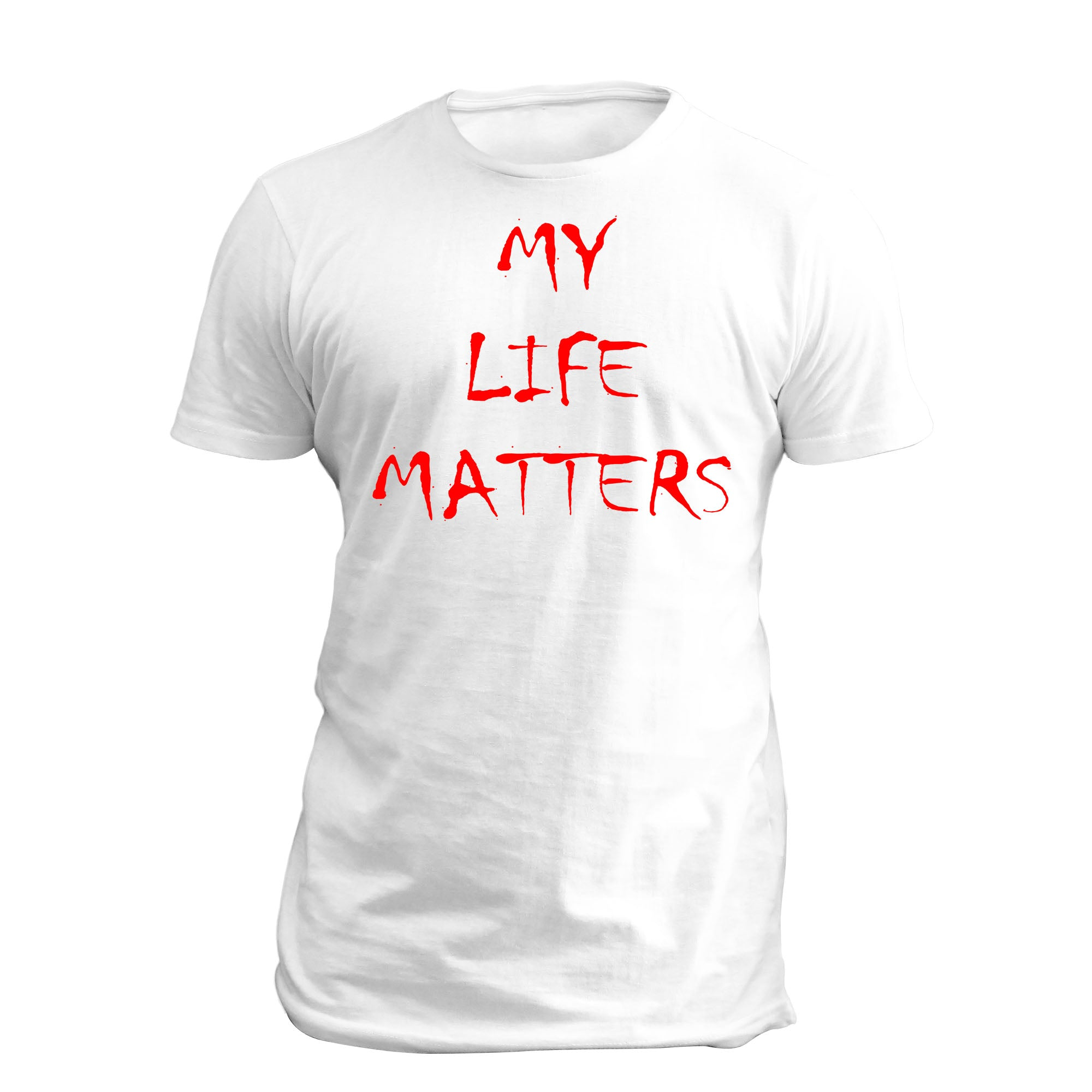 My LIfe Matters by NHZ SS Full T Shirt White