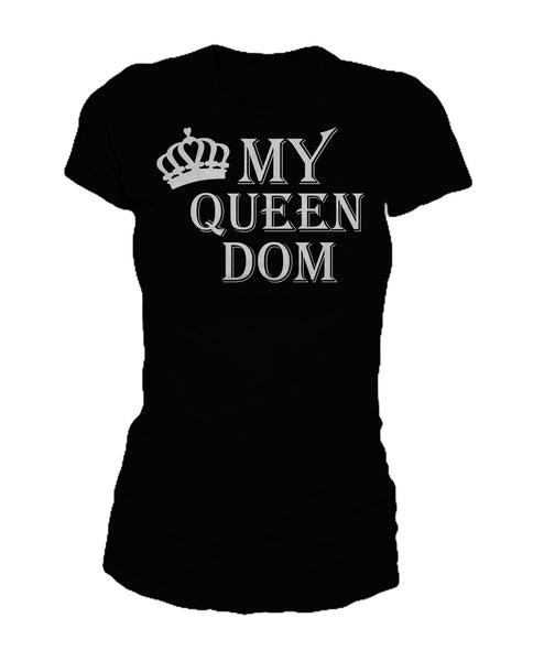 My Queendom SS Full T Shirt Black