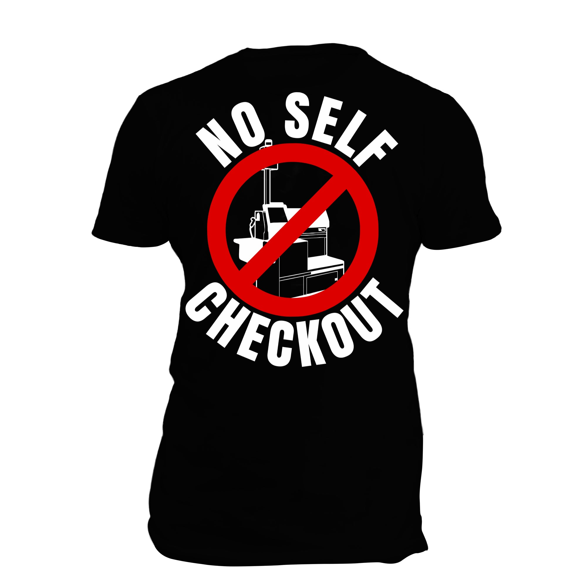 No Self Checkout (blk)