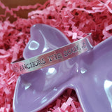 Hope Anchors the Soul - Hand Stamped Cuff Bracelet
