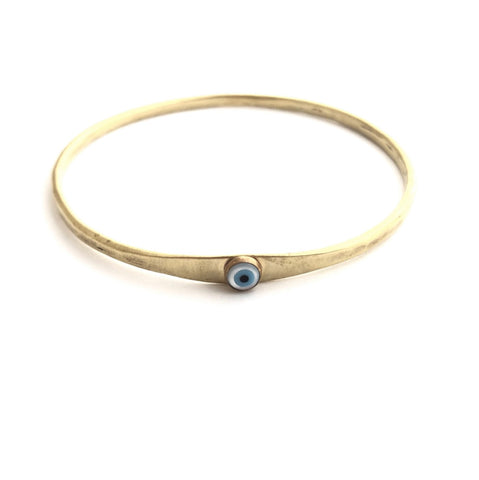 Eye of Protection Bangle Bracelet