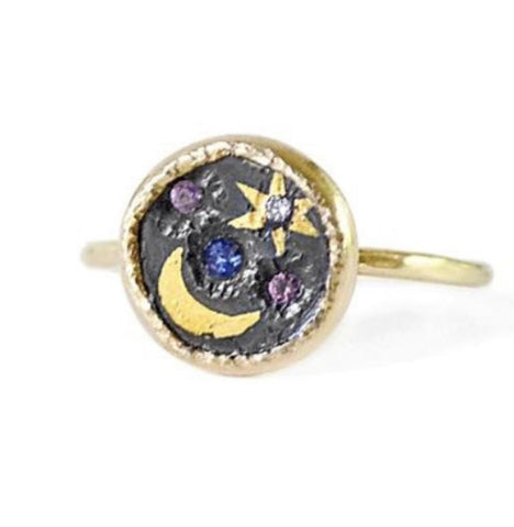 Space Scape Ring