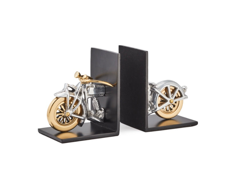 Motorcycle Bookends