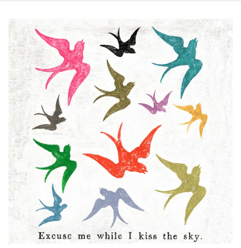 Excuse Me While I Kiss The Sky
