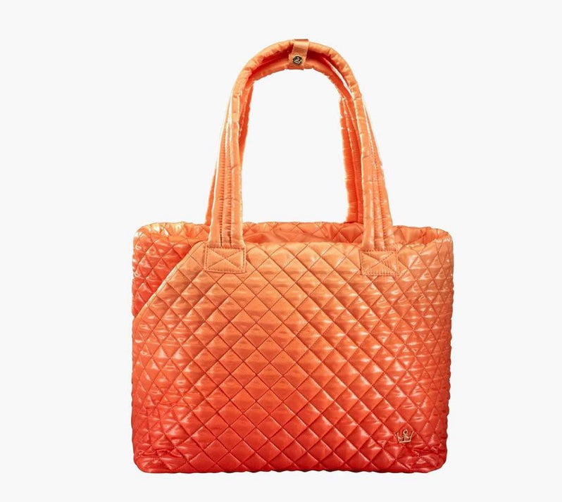Oliver Thomas Wing Woman Tote Ombre Orange