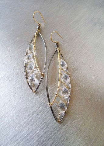 Crystal Marquis Earrings