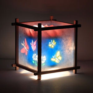 Woogie Lamp - Children's Spinning Lamp-Butterlies