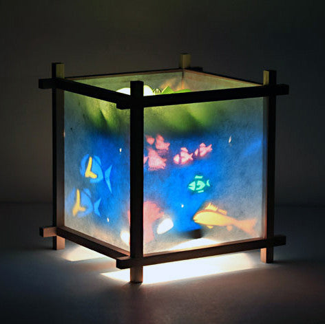 Woogie Lamp - Children's Spinning Lamp-Fish