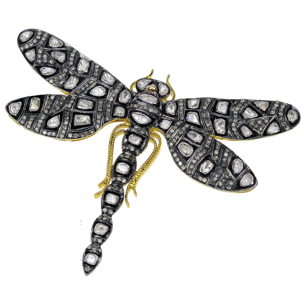 Sedoni Collection Diamond Dragonfly Pin