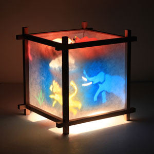 Woogie Lamp - Children's Spinning Lamp-Animals