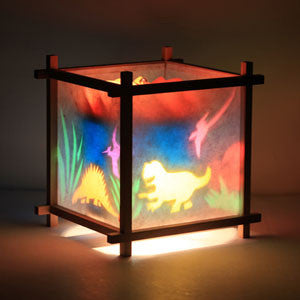 Woogie Lamp - Children's Spinning Lamp-Dinosaurs