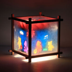 Woogie Lamp - Children's Spinning Lamp-Bears