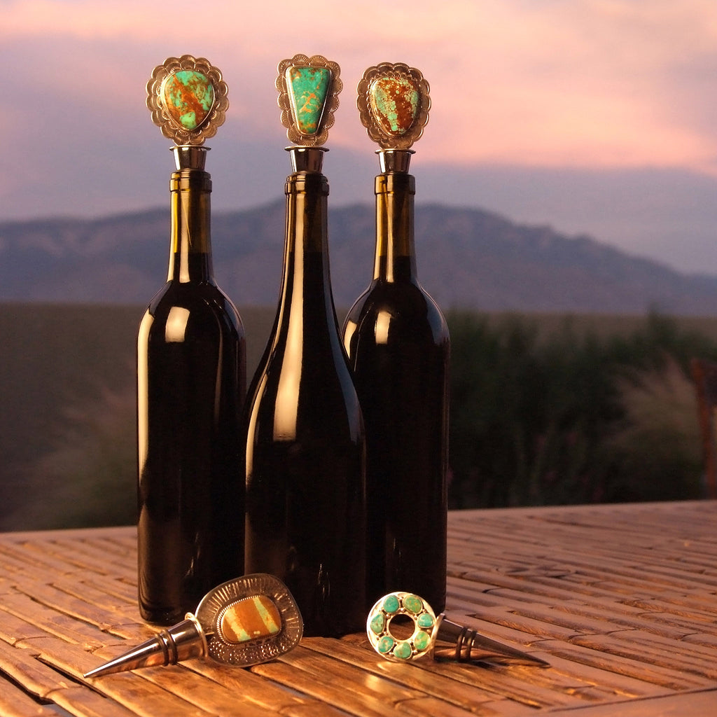 Handcrafted wine stoppers