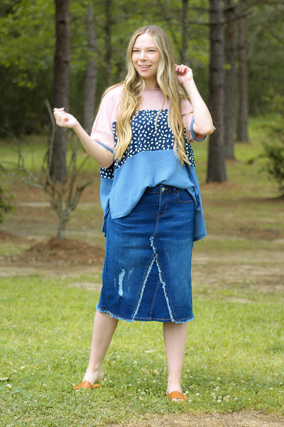 Shop Denim Skirts