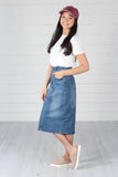 Harlem Denim Skirt - Medium