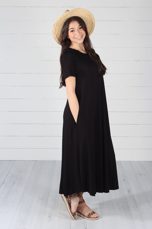 Hallie Dress- Black