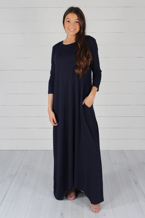 GiGi Dress- Navy