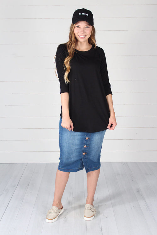 Giovanni Top- Black