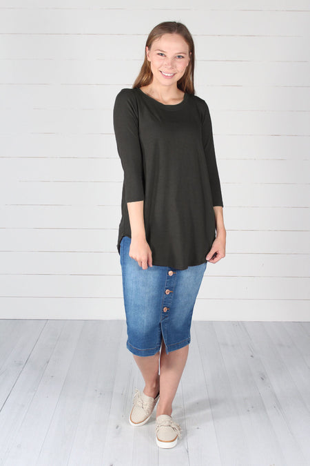 Jamee Top- Black