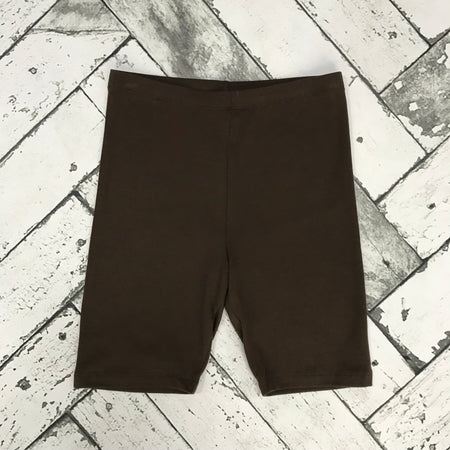 Cotton Slip Shorts-Coffee