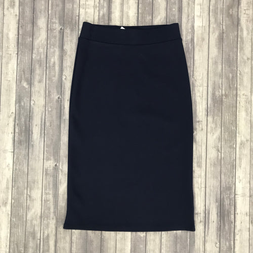 Channing Pencil Skirt-Navy